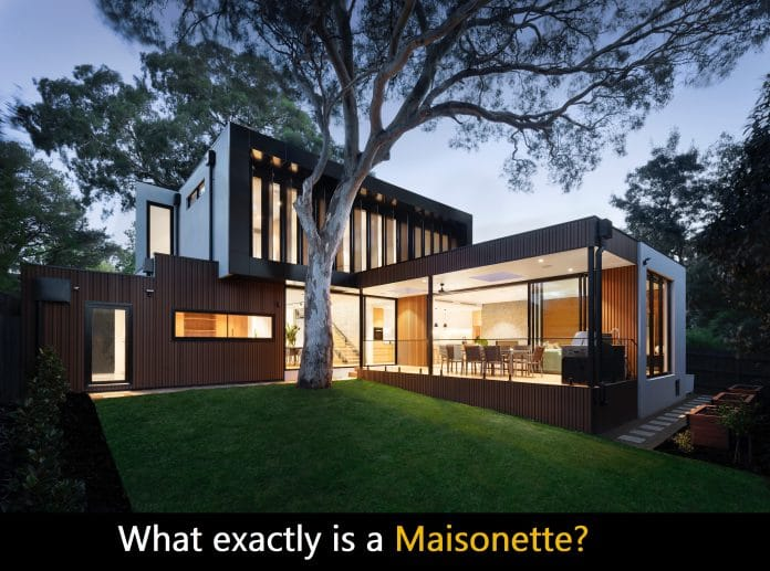 what exactly is a maisonette Read More